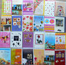 10 Grusskarten Geburtstag Glückwunsch Karten 10 verschiedene Motive Umschläge