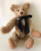 "NWT1987 Stier Bear 15"" Kathleen Wallace Wavy Mohair Jointed Classic Teddy Bear"