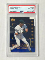 DEREK JETER 2000 Upper Deck All-UD Team INSERT! PSA NM-MT 8! YANKEES! #526!