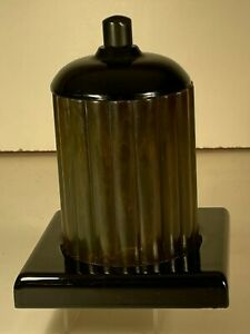 Catalin 1930s Art Deco Green Cigarette holder humidor excellent very collectible