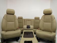 Chevy Silverado SEATS GMC Sierra SLE CREW CAB SEAT SET 2007 2008 2009 2010 2014