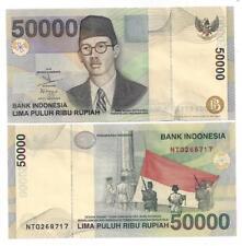 INDONESIEN INDONESIA 50000 50.000 RUPIAH 1999 /2003 UNC P 139 e
