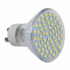 10X 5W GU10 SMD 3528 60 LED Spot Light 6500K Pure bombilla de luz blanca de K3J8