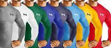 Under Armour Heatgear Mens Long Sleeve Compression Mock [All Sizes & Colours]