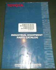 Toyota 30 5fbcu18 20 25 30 Fbchu20 Forklift Parts Manual Book Catalog G818 1