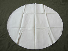 WWII GERMAN WAFFEN HEER ARMY WINTER OFF-WHITE HELMET COVER