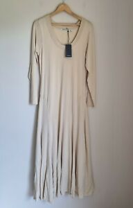 Country Road Fit And Flare Knit Dress Size XL, 16, Vanilla,  RRP $229