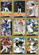 2009 Topps Gold Parallel Insert Set Lot of (23) Different See List & Scan
