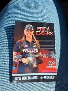 Erica Enders NHRA Melling / GunSkins Trading Card