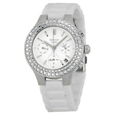 DKNY Chambers Multi-Function White Dial White Ceramic Ladies Watch NY2223