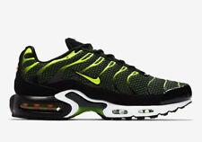 Nike Air Max Plus TN | UK 8.5 EU 43 US 9.5 | 852630-036 Black, Dark Grey, Volt