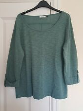 933c93e625e73c Only Ladies 3/4 Sleeve Top Size Large 14/16 Green Brand New