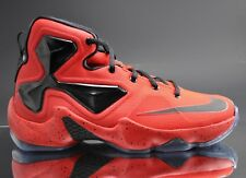 New Nike Lebron Xiii (Gs) Size 6.5 Red / Black Zoom Rare 808709-606