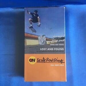 On Video Skateboarding Fall 2002 Issue VHS - Vintage Alex Moul Mark Appleyard