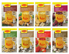 MAGGI 5 MINUTES Instant Soup Variety Mushroom Tomato Cheese Chicken Bacon