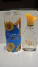 CHANSON DU SOLEIL WOMAN EAU TOILETTE 100 ML SPRAY VINTAGE & RARE NEW