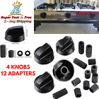 Camping Appliances Control Dial Knobs Replacement For Oven Stove Range 4 Pack  photo