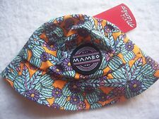BNWT Toddler Girl's Mambo Floral Summer Bucket Hat OSFA