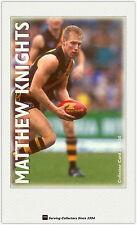 1996 Optus Vision AFL Card #24 Matthew Knights (Richmond)