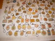 Huge Lot +100 Vintage key chains  1960's - 70's Israel old keychains