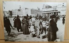W27 Postcard MARKET SQUARE Pennsylvania Ave, 7th and 9th St DC FIRST DAY OF USE