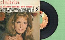 DALIDA / Il Silenzio, Bonsoir mon amoir BARCLAY 70853 M Pres France 1965 EP VG+