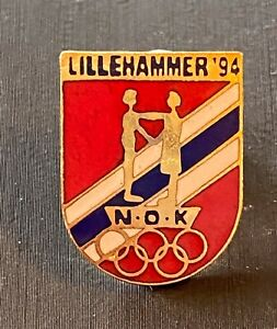 LILLEHAMMER 1994 - DATED  NORWAY NOC PIN .