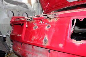 BMW E30 license plate lights rust solution inserts - New Design!   XXX