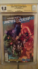 Justice League VS. Suicide Squad #2 CGC 9.8 AUTOGRAPHED by JOSHUA WILLIAMSON