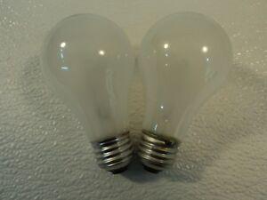 Philips 60 Watt Incandescent Light Bulb 2 Pack Frost E26 Medium Base 60A