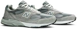 """New Balance 993 Gray Mens Original Athletic Shoes Size 4 - 11 """"MADE IN USA"""""""