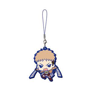 Attack on Titan Mascot Rubber Anime Strap Keychain Charm ~ Jean Kirstein @13385