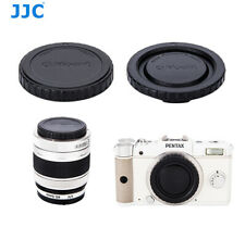 JJC Body Cap + Rear Lens Cap for PENTAX Q Mount Lenses + Cameras PENTAX Q10 Q7