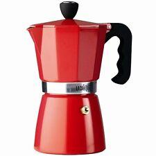 La Cafetiere 6 CUP Classic ESPRESSO Coffee MAKER Percolator - RED