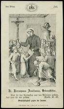 santino incisione 1800  S.GIROLAMO EMILIANI
