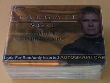 2004 Rittenhouse Archives Stargate Season 6 Trading Card Set