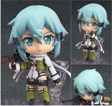 Nendoroid 452 Sword Art Online II Sinon Phantom Bullet SAO GGO Figure Toy Gift