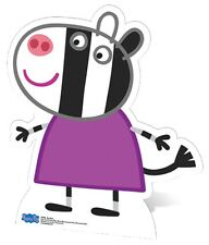 Zoe Zebra from Peppa Pig Official Cardboard Fun Cutout 79cm Tall-For your party