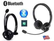 Over Headphones Boom Mic Bluetooth Wireless Headset For Trucker Drivers