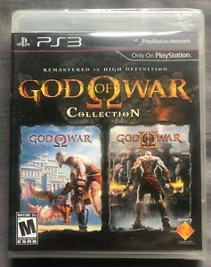 God of War Collection   Playstation 3   Brand New & Sealed!