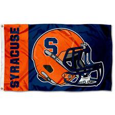 Syracuse Orange Football Helmet Flag Large 3x5
