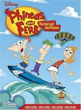 Phineas and Ferb: Volume 1 - The Fast and the Phineas  - DVD - DISNEY KIDS SHOW