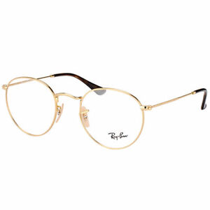 Brand New 2021 Ray Ban Eyeglasses Rb 3447V 2500 Rx Authentic Frame Round Metal S