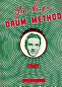 Vintage Gene Krupa Drum Method 1966 Robbins Great Condition.
