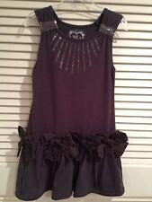 NEW Deux Par Deux Girls 100% Cotton Chocolates Just A Kiss Dress Size 5