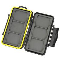 Nuevo 10 x Tarjeta de Memoria Cf casos protección Caja De Plástico Para Cf Compact Flash Card