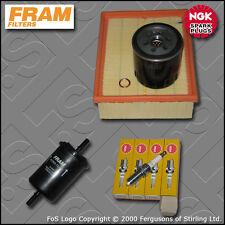 SERVICE KIT PEUGEOT 206 2.0 16V GTI FRAM OIL AIR FUEL FILTERS PLUGS (1999-2005)