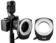 Godox Macro Ring Flash LED Light for Nikon Canon 750D 650D 1300D 70D 80D camera