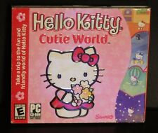 Sanrio Hello Kitty Cutie World PC CD-Rom Activities Games - Rated E 2002