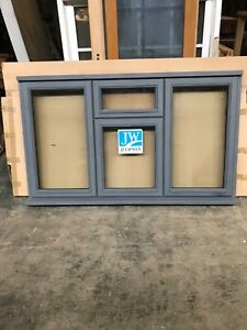 Brand New Unused Supplied Double  Glazed Timber Window 1765mmx1045mm grey primed